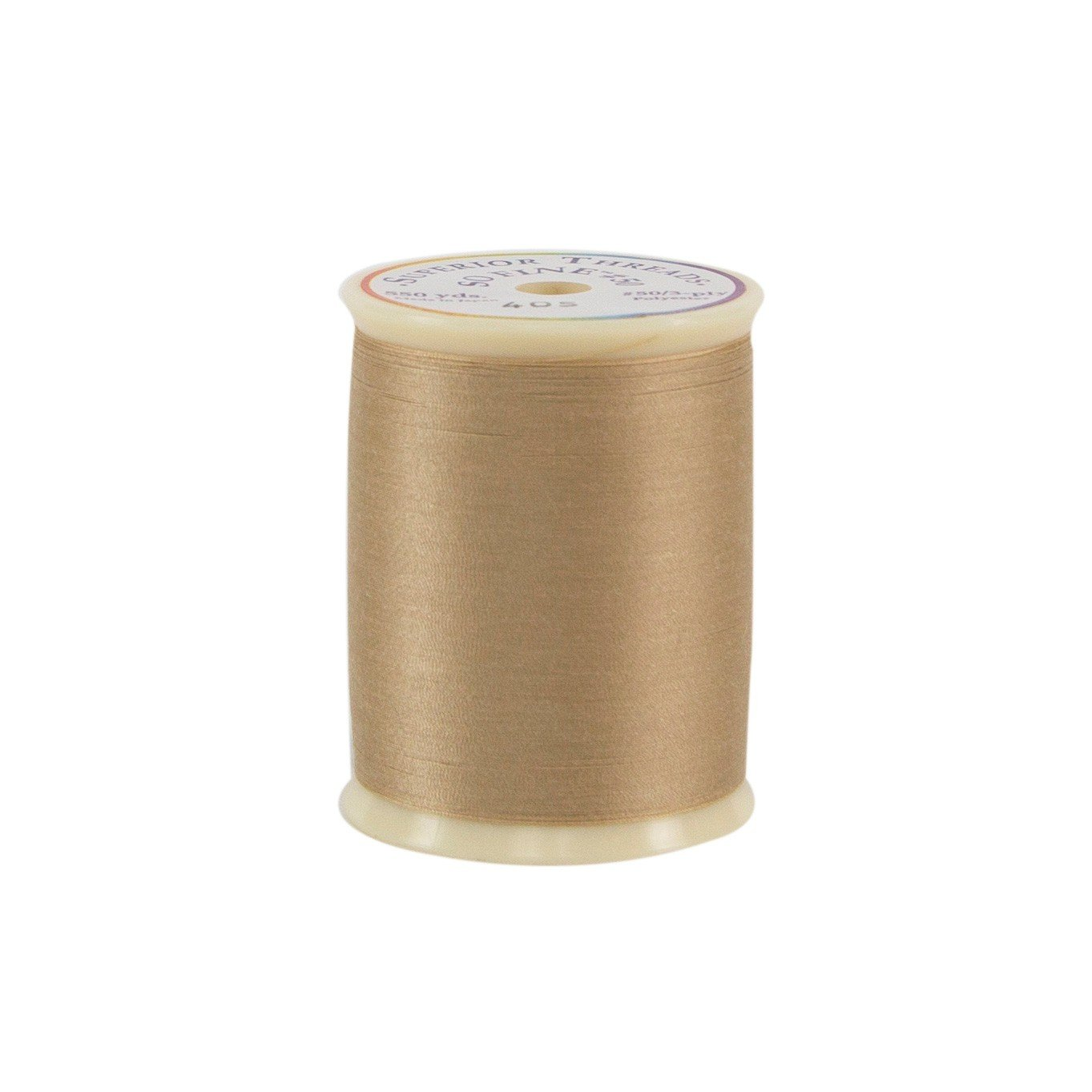Superior Threads So Fine! #50/3-Ply Quilting Thread 550 yds Spool; 411 Black 116-01-411 Inc. BCACS15294