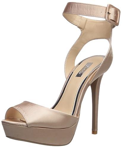 0c76bf6170a1 Qupid Women s AVALON-187 Heeled Sandal Blush 10 M US