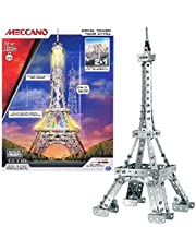 Meccano by Erector, 2-in-1 Model Kit: Eiffel Tower and Brooklyn Bridge