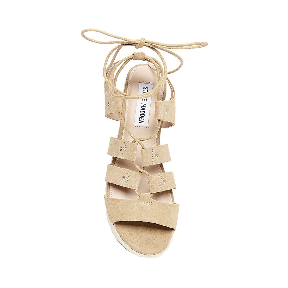 3eea425c1e2a6 Amazon.com | Steve Madden Women's Brayla Espadrille Wedge Sandal | Platforms  & Wedges
