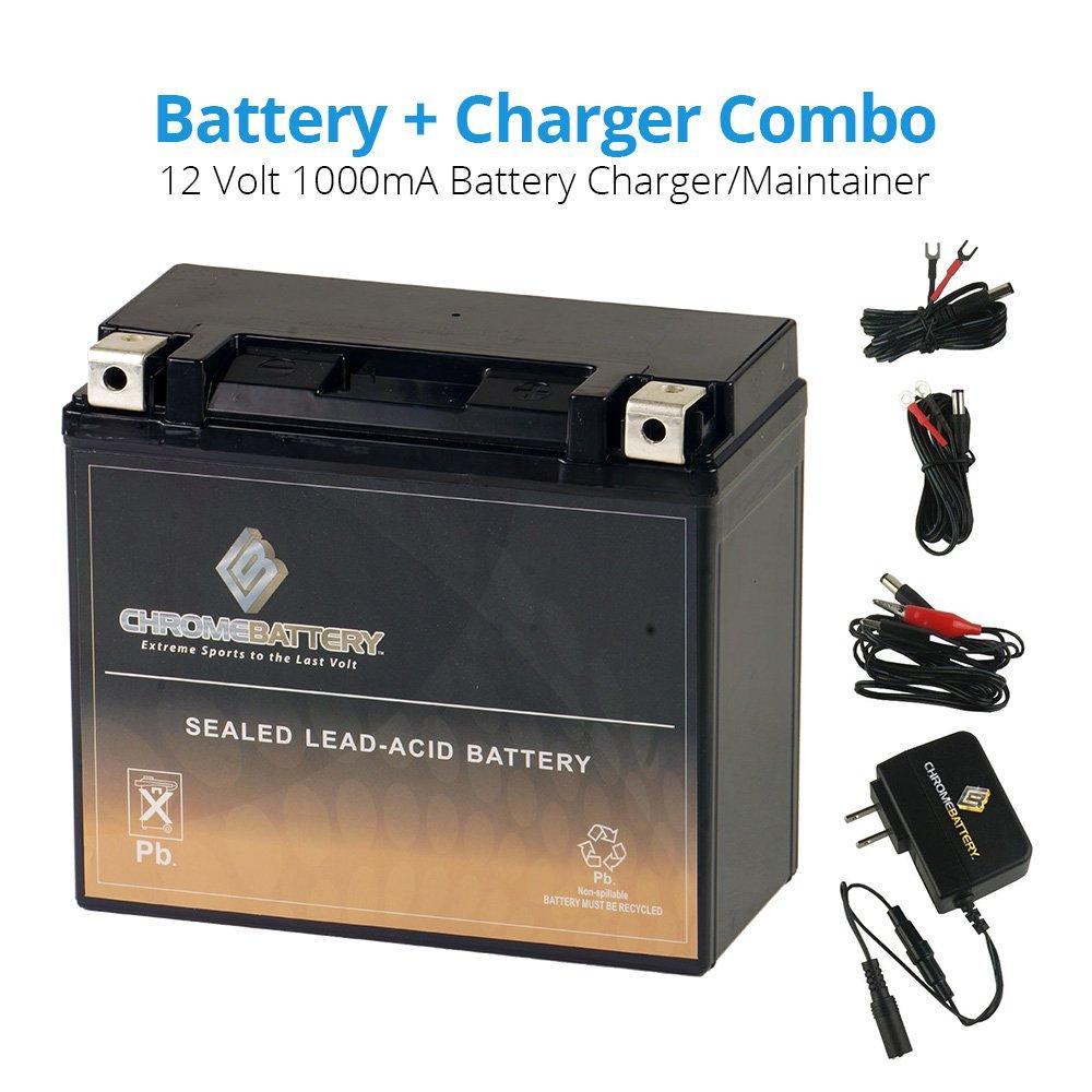 Amazon.com: YTX20L-BS batería de con 1 Amp Cargador ...