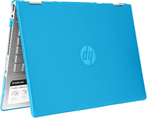 "mCover Hard Shell Case for 14"" HP Pavilion X360 14-CDxxxx / 14-DDxxxx Series Convertible 2-in-1 laptops – HP-PX360-14CD Aqua"