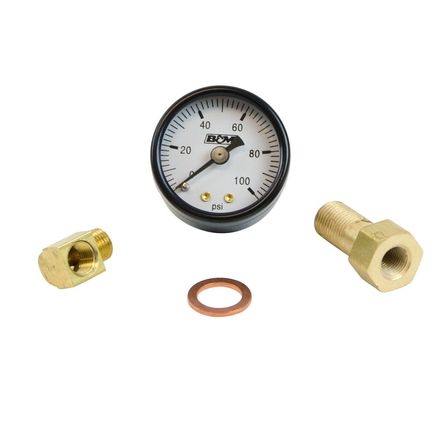 B&M 46054 Fuel Pressure Gauge Set
