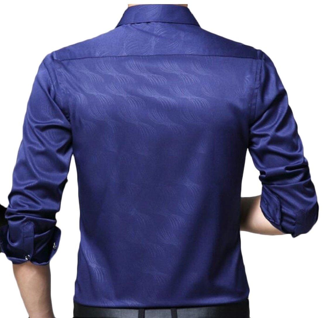 M&S&W Camisa B07F1JVR6Y de Vestir Graduación para Hombre, de Algodón ...