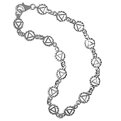 Amazon Continuous Aa Symbol Bracelets Anklet And Necklaces