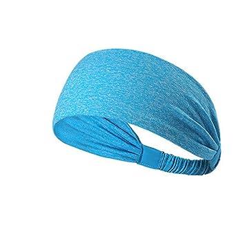 Amazon.com : Yoga headband sport women running sport hair ...