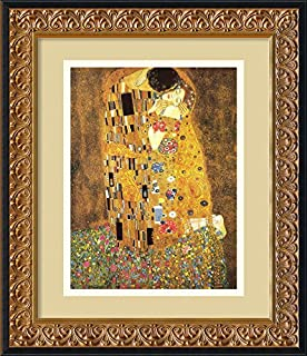 Framed Wall Art Print The Kiss (Le Baiser/Il Baccio), 1907 by Gustav Klimt 17.38 x 20.38 (B002NO6KSW) | Amazon price tracker / tracking, Amazon price history charts, Amazon price watches, Amazon price drop alerts