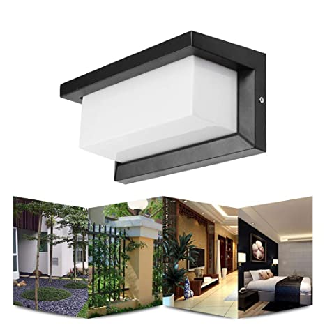Amazon Com 15w Led Outdoor Wall Light Wall Mounted Modern