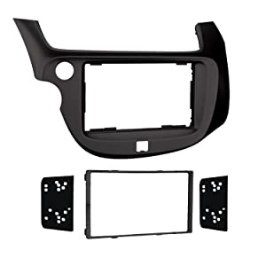Metra Electronics 95-7877B Double-DIN Dash Kit for Honda Fit 2009-13, (Black)