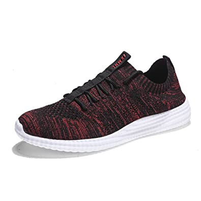 Mens Breathable Fashion Walking Sneakers Lightweight Athletic Running Shoes