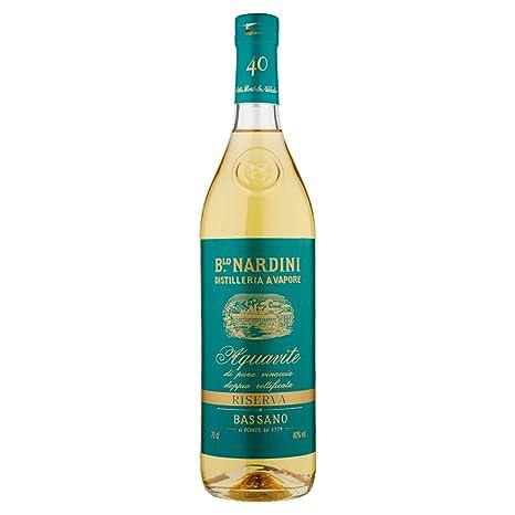 grappa nardini  Grappa Nardini Aquavite Riserva 40% 0.70L: : Alimentari e ...