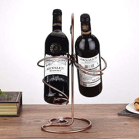 Botellero de vino, creativo estante de vino, decoración, puede ...