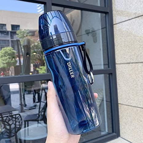 XIAMD Botella Deportiva Tritan Creativo Deporte Botella De Agua ...