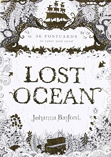 Lost Ocean: 36 Postcards to Color and Send Secret Postcard Book