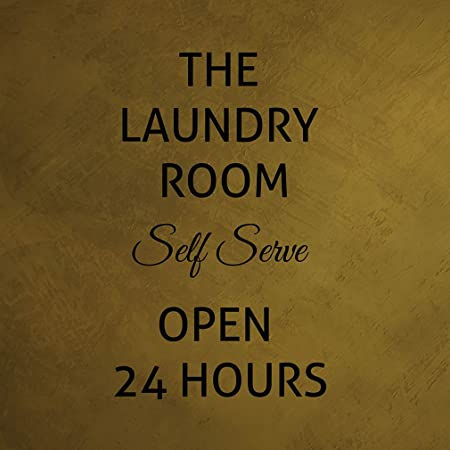 Fastasticdeals Cartel con Texto en inglés «The Laundry Room ...
