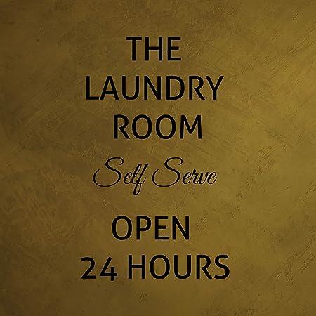 Fastasticdeals Cartel con Texto en inglés «The Laundry Room ...