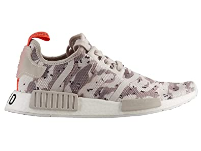 72281a4cb adidas Women s Originals NMD R1 Chalk White Chalk White Solar Red Mesh Running  Shoes