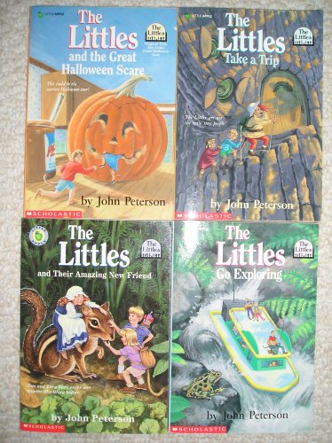 Littles Set 3 (Littles and the Great Halloween Scare, Littles Take a Trip, Littles Go Exploring, Littles and Their Amazing New Friend) (The Littles And The Great Halloween Scare)