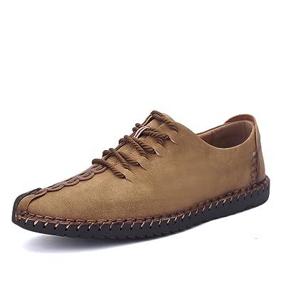 Sneakers Damen SchuheSchnürhalbschuhe Loafers Classic Top Veloursleder Flache Mokassins Leder Gracosy HalbschuheCasual Low Herren 76ybfvYg