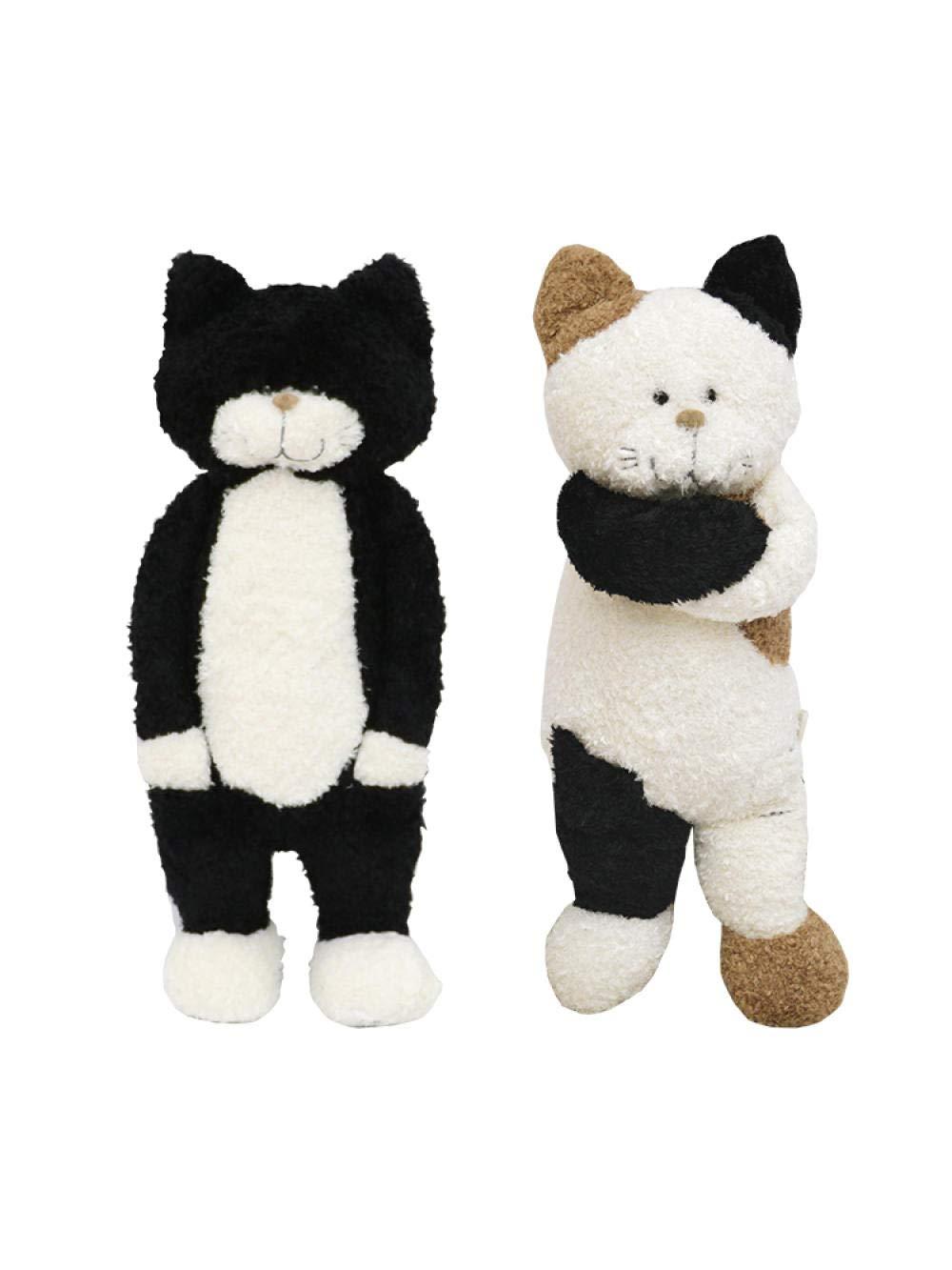 Tu satisfacción es nuestro objetivo Figura de gato, gato, gato, juguete de peluche, muñeca de gato, linda almohada para dormir, muñeca de muñeca, regalo de cumpleaños femenino@Gato gris   frank frank_Bolso de mano de regalo de la marca M 50cm.  Todos los productos obtienen hasta un 34% de descuento.