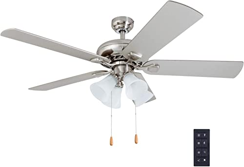 Prominence Home 50755-01 Lanie Traditional Ceiling Fan 3 Speed Remote