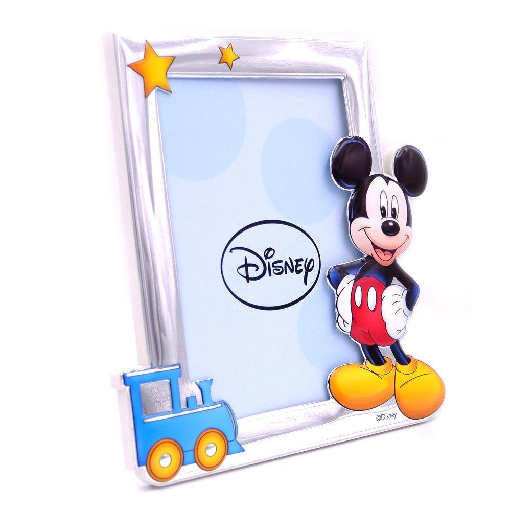 Bilderrahmen Silberrahmen Fotorahmen Disney Kind Mickey Mouse cm 13 ...