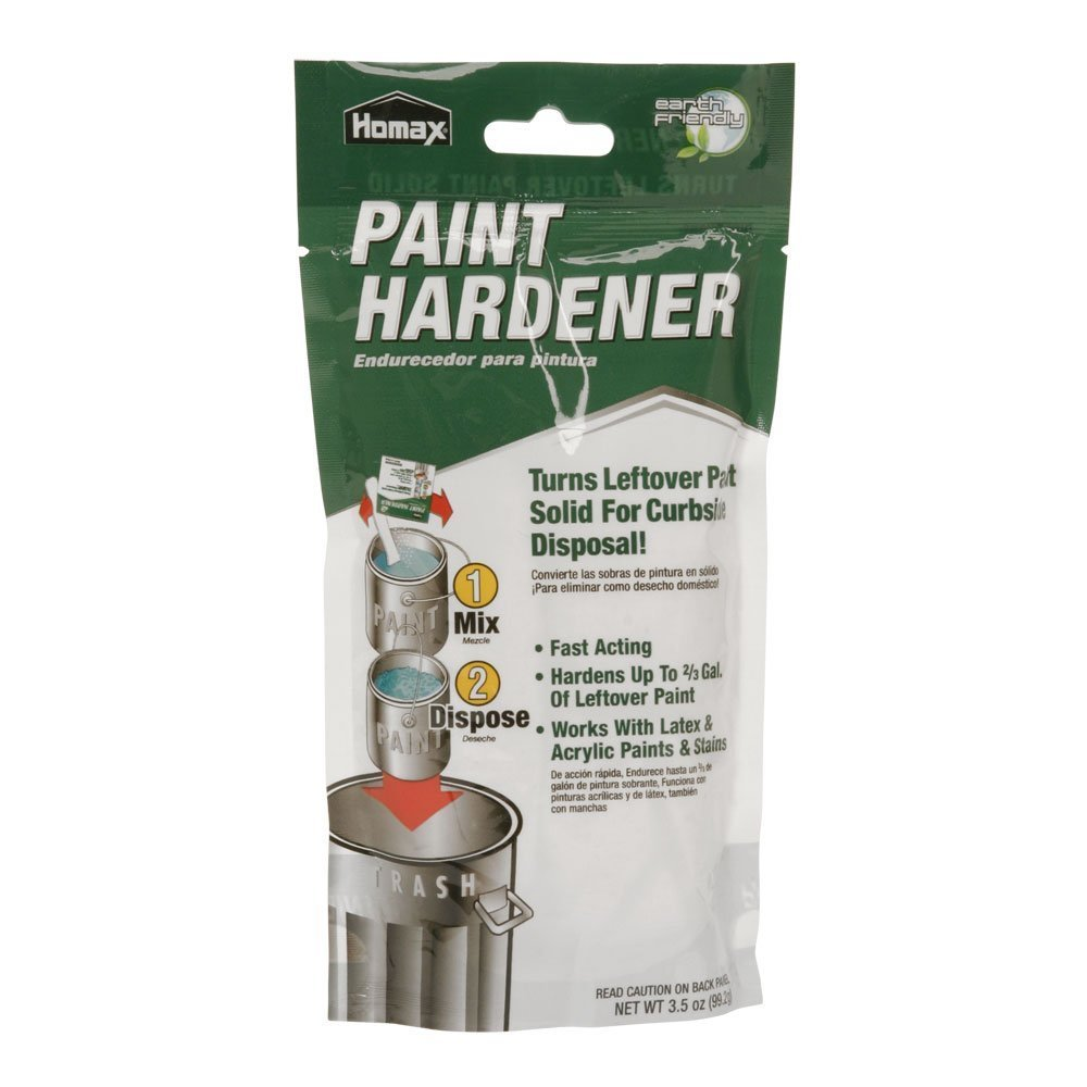 Hardener 8 oz pack of 6 automotive parts and accessories - Homax 3535 Waste Away Paint Hardener 3 5 Ounce Household Paint Solvents Amazon Com