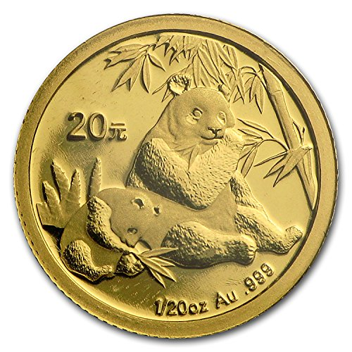 2007 CN China 1/20 oz Gold Panda BU (Sealed) Gold Brilliant (2007 Panda Gold Coins)