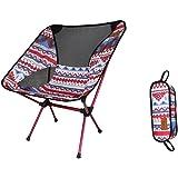 """Sedia da campeggio leggera e pieghevole di Zoeson, 22.4 """"x13.8"""" x25.6 """", perfetta per escursionismo / pesca / backpacking"""