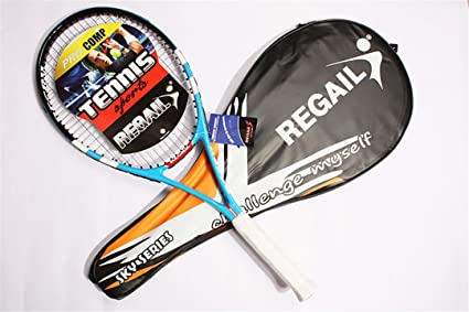 1 Piece Tennis Racket Carbon Fiber Women Man Masculino Raqueta De Tenis for Match Game Training