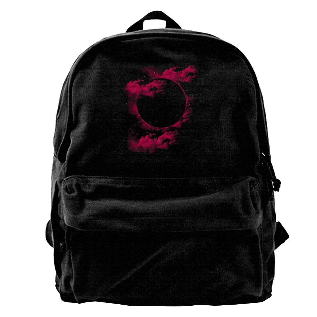 Black Hole Canvas Shoulder Backpack Backpack For Men & Women Teens College Travel ypack Black LWCXZLYJB9CK3B0M32QQ