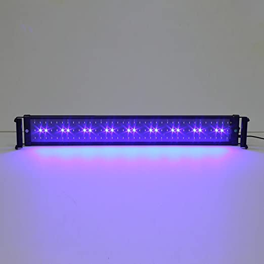 SIMBR Lámpara acuario, luces para acuarios y estanques, 900 lúmens 72-90cm 108LED