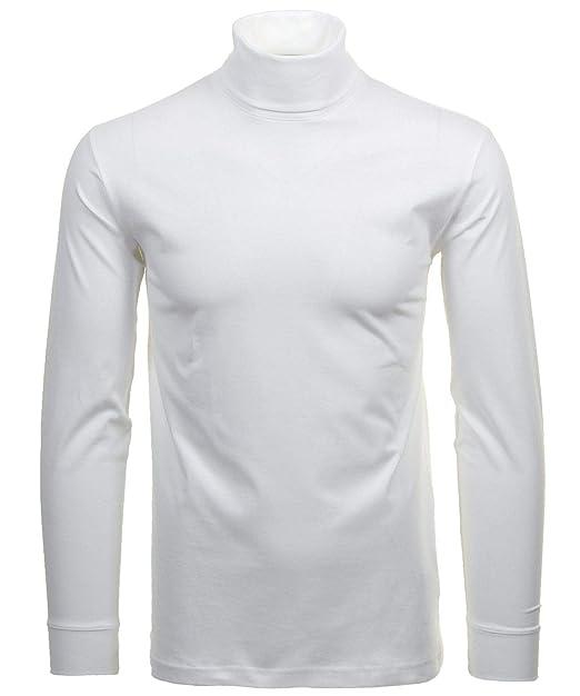 Polo de algodón para Hombre, Cuello y puños Acanalados, Color ...
