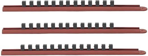 "Gearwrench 83105 1//4/"" Drive Slide Socket Rail Red"
