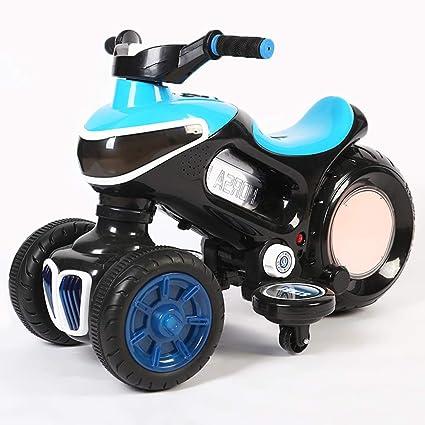 GNB Motocicleta niños de Cuatro Ruedas Chopper Trike Motocicleta Paseo eléctrico en Las Luces del Motor
