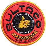 BULTACO Classic Motorcycle Motocross Motobiker Logo Sign Biker Racer Patch Sew Iron on Embroidered T shirt Jacket Custom Gift BY SURAPAN