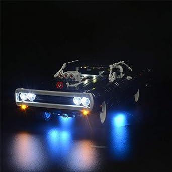 Tetake Beleuchtung Led Licht Set Für Lego Technik Doms Dodge Charger 42111 Nicht Enthalten Lego Modell Beleuchtung