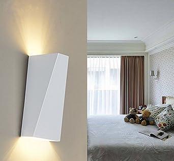Louvra Applique Murale Intérieur LED 10W Lampe Décorative Moderne Créatif  Originale Éclairage Design Lumiaire Aluminium Pour