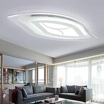 Kaxima Ultra dünne Acryl LED Lampe Wohnzimmer Schlafzimmer ...