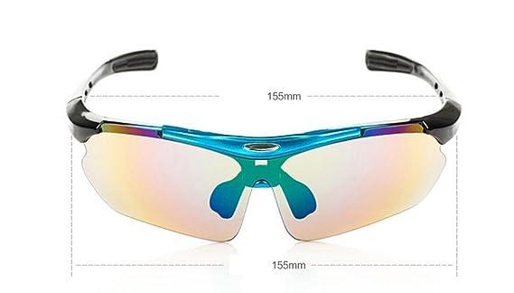 LQABW Außenreitplatz Fahren Sonnenbrille Winddichtes Sandsturm Schutzbrille Sport Mountainbike Spiegel,Grey