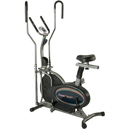 Fitness Realidad E3000 2 en 1 Aire elíptica y bicicleta estática ...