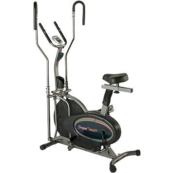Fitness Realidad E3000 2 en 1 Aire elíptica y bicicleta estática