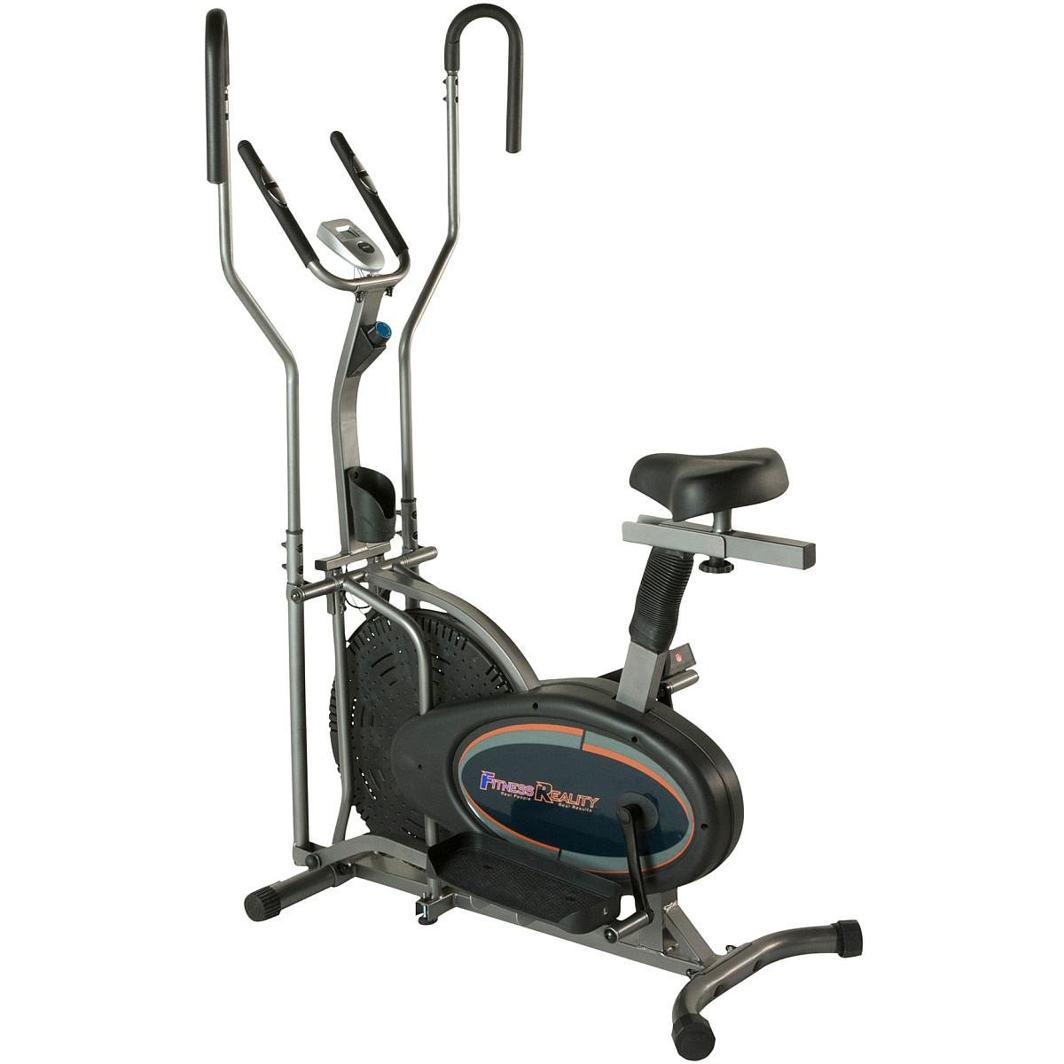 FITNESS REALITY E3000 2-IN-1 AIR ELLIPTICAL AND EXERCISE BIKE by Fitness Reality