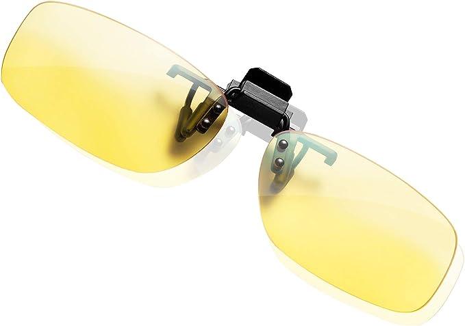 KLIM™ OTG - Gafas de Clip para Bloquear la luz Azul - Nuevas - Alta protección Frente a la Pantalla - Gafas Gaming para PC, móvil, TV - Anti Fatiga, Anti luz
