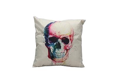 iHome Almohada Decorativa Case, Espacio de algodón Lino, 45 ...