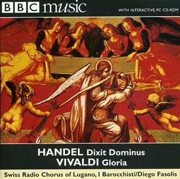 Handel: Dixit Dominus / Vivaldi: Gloria by Barocchisti : Barocchisti: Amazon.es: Música