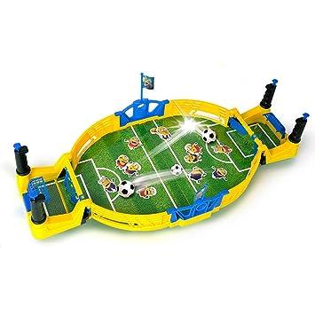 Hh001 Máquina de fútbol de Mesa Consola de Juegos Doble para niños ...