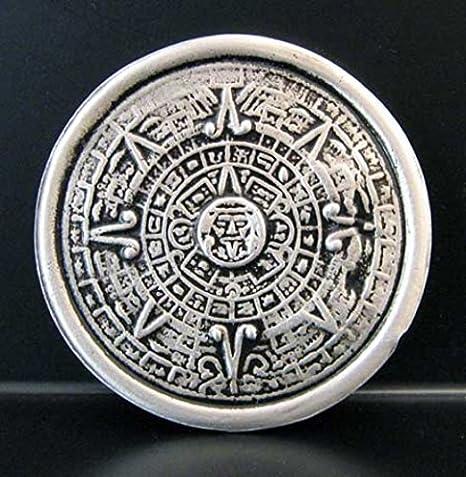 Il Calendario Maya.Fibbia Il Calendario Maya Aztechi Simboli Maya Amazon It