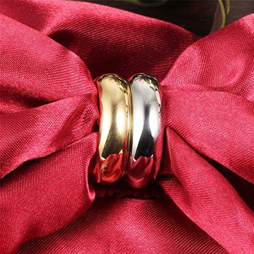 046dfde3f4f5 Buena FJYOURIA - Anillo de boda para hombre de 7 mm