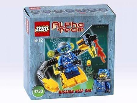 Lego Figur Alpha Team  Crunch Mission Deep Sea alp016  4794